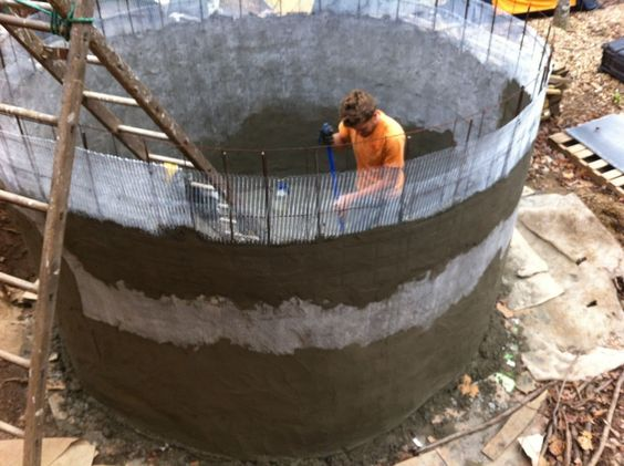 ferrocement-watertank-bouwen